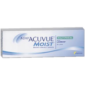1-Day Acuvue Moist Multifocal | 30er Box | Addition LOW(MAX ADD+1,25)