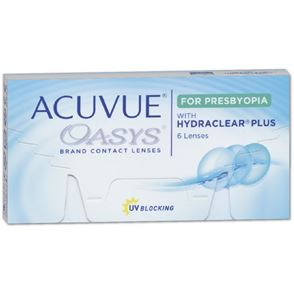 Acuvue Oasys for PRESBYOPIA | 6er Box | Addition HGH (ADD +2,00 bis +2,50)