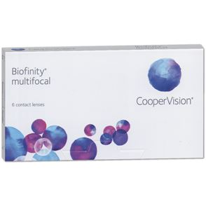 Biofinity Multifocal | 6er Box | ADD +1,00 D