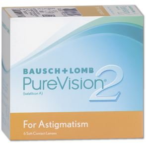 Pure Vision 2 for Astigmatism (Toric) | 6er Box