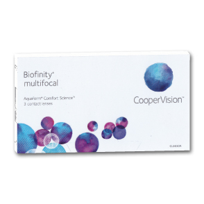 Biofinity Multifocal | 3er Box | ADD +1,00 D
