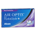 AIR OPTIX plus HydraGlyde Multifocal   3er Box