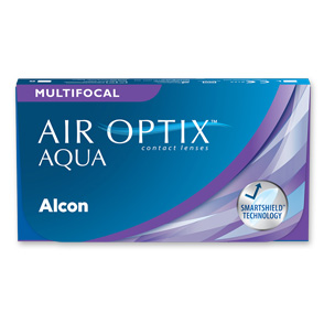 Air Optix Aqua Multifocal | 6er Box | Addition LO(MAX ADD+1,00)