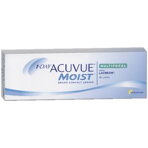 1 Day Acuvue® Moist Multifocal | 30er Box | Addition HGH(MAX ADD+2,50)