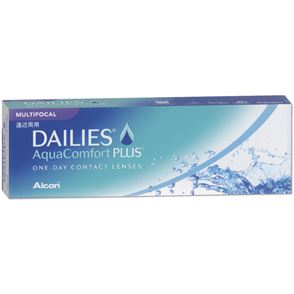 Dailies AquaComfort Plus Multifocal | 30er Box | Addition LO(MAX ADD+1,25)