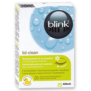Blink lid - clean