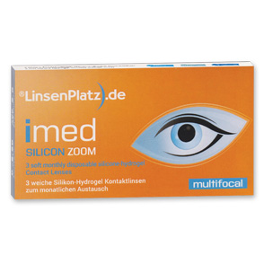 LinsenPlatz imed SILICON ZOOM | 3er Box | ADD +1,50
