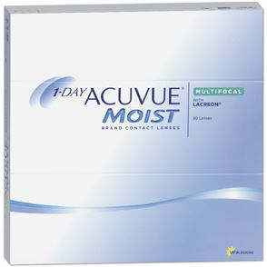 1-Day Acuvue Moist Multifocal | 90er Box | Addition LOW(MAX ADD+1,25)