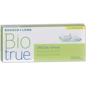 Biotrue ONEDay for Presbyopia | 30er Box | Addition HIGH(+1,75 +2,50)