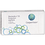 Biomedics 55 UV Evolution   6er Box