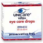 UNICARE vita+ eye care drops - Ampullen (EDO)
