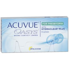 Acuvue Oasys for PRESBYOPIA | 6er Box | Addition LOW (ADD +0,75 bis +1,25)