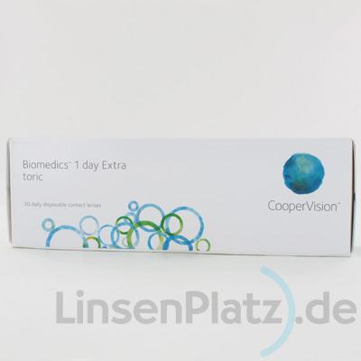 Biomedics 1 day toric Extra 30er Box