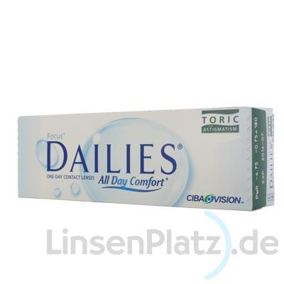 Focus Dailies Toric 30er Box
