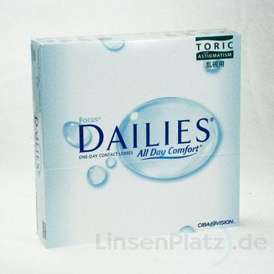 Focus Dailies Toric 90er Box