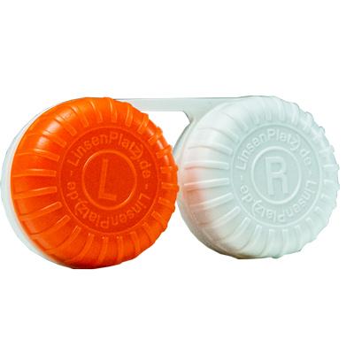 Linsenplatz Kontaktlinsenbehälter Einzel