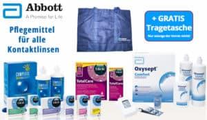 Gratis Tragetasche zu Pflegemitteln des Herstellers Abbott, jetzt im Linsenplatz.de Onlineshop!