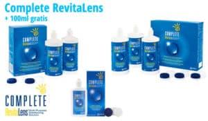 Complete RevitaLens mit 100ml gratis im Linsenplatz.de Onlineshop!