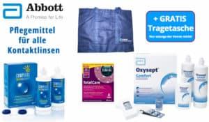 Tragetasche gratis zu Abbott-Pflegemitteln im Linsenplatz.de-Onlineshop! Schnell zugreifen!