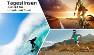 Mit Tageslinsen stressfrei in den Urlaub! Große Auswahl der Markenhersteller im Linsenplatz.de Onlineshop.