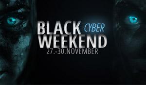 Das Black Cyber Weekend startet! Vom 27.11. bis zum 30.11.2020 im Linsenplatz.de Onlineshop sparen!