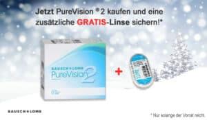 Große Weihnachtsaktion mit Pure Vision – Gratis Kontaktlinsen!