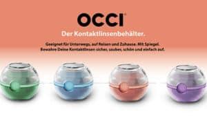 OCCI der Innovative Kontaktlinsenbehälter