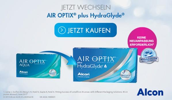 Air Optix Aqua | Air Optix Plus HydroGlyde Kontaktlinsen